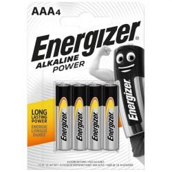 Energizer 4 ks AAA baterie