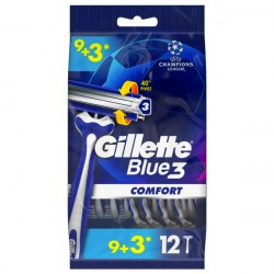 Gillette Blue 3 břity 12 ks